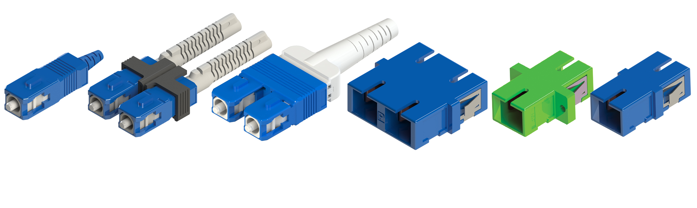 SC Connectors and Adapters