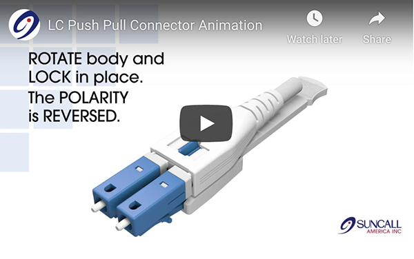 LC Push-Pull Connector