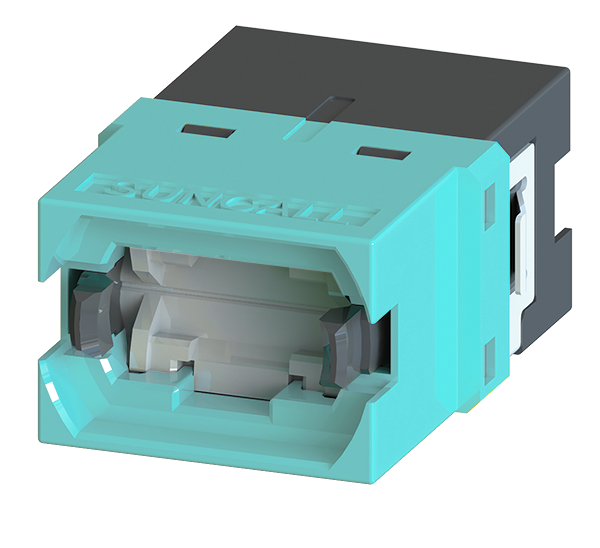 MPO Simplex Adapter with internal shutters